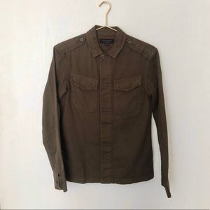 Hauptmann Military Shirt – Allsaints